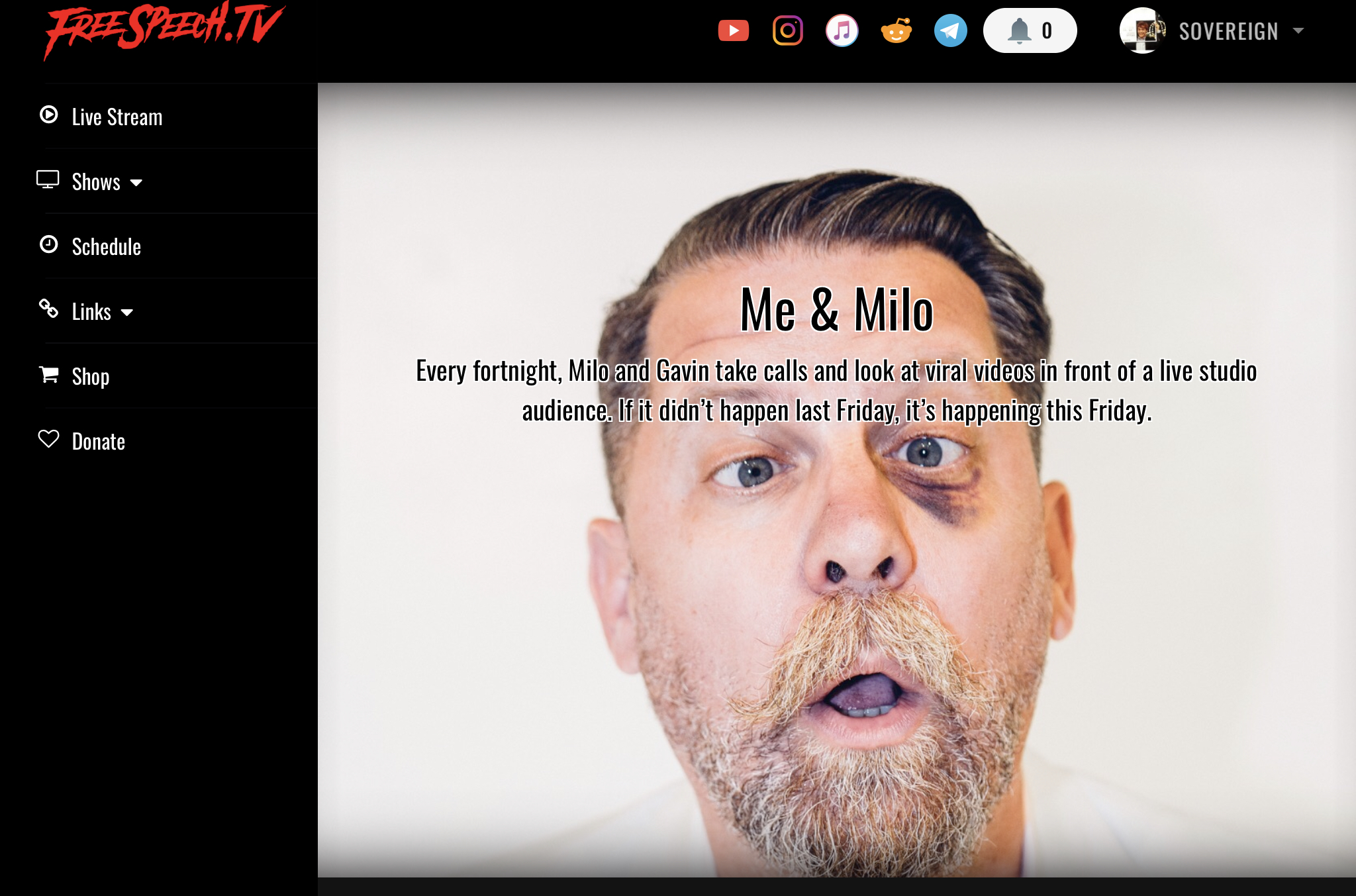 McInnes is Back!  youtube proudboys podcast mcinnes Gavin Censorship  weather us canada tech sport society culture shows reviews services science news reviews politics government politics podcasts other news livestreams interviews europe entertainment news business finance breaking news