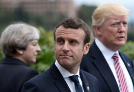 Donald Trump, Theresa May and Macron going in without Congressional or Parliamentary authorization 3