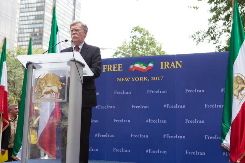 John Bolton: Predicts that Iran will have a Regime Change before 2019