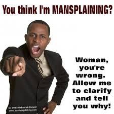 Mansplaining something, to Feminists