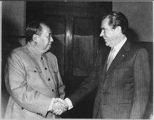 Globalism and MAGA Nixonlossy page1 220px President Nixon meets with Chinas Communist Party Leader Mao Tse  Tung 02 29 1972   NARA   194759.tif globalism free trade  society culture politics government news history business finance