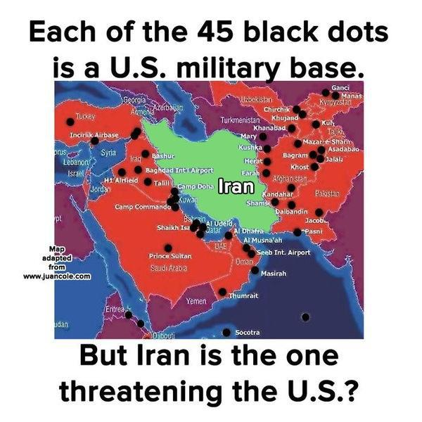 Iran is being Encircled   Why the U.S. Wants to get into Iran iran is being encircled why the u s wants to get into iran  politics government news history
