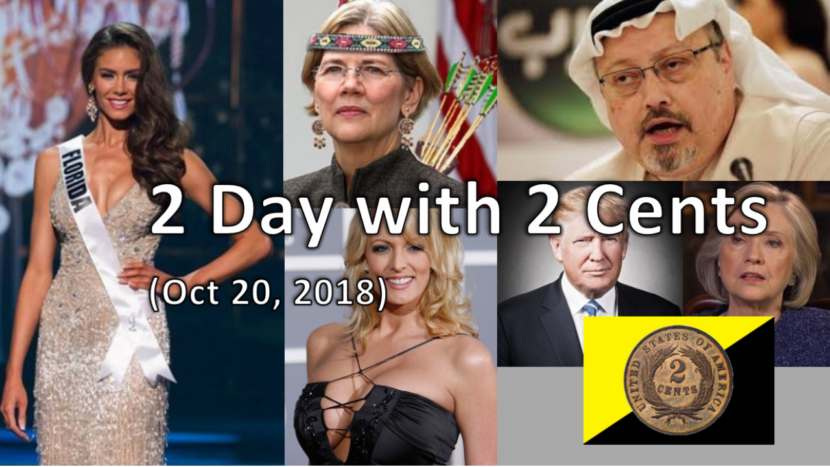 2 Day with 2 Cents (Oct 20, 2018): Weekly News Rundown