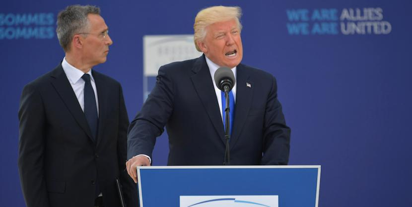 Why Trump should pay for European 'Defence' 1