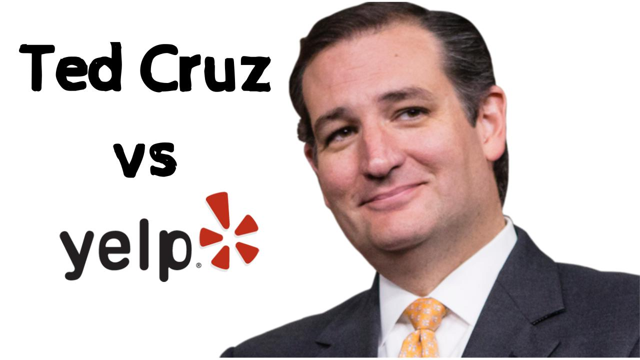 Ted Cruz vs Fiola! Right Wing Raiders Target Yelp! 73 Yelpers Yelp Reviews Yelp The United States the left Ted cruz scandal fiola drama  society culture reviews politics news reviews foods