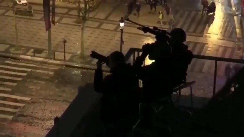 France: Chemical Weapons and Snipers
