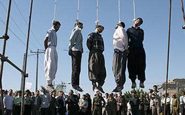 Iran   The Cry for Democracy Boy executions1  politics government politics news asia