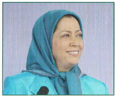 Iran   The Cry for Democracy Maryam Rajavi2  politics government politics news asia