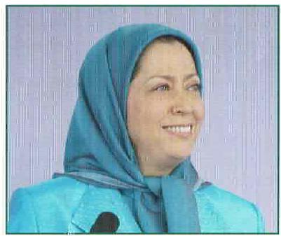 Iran   The Cry for Democracy Maryam Rajavi2  politics government politics news asia