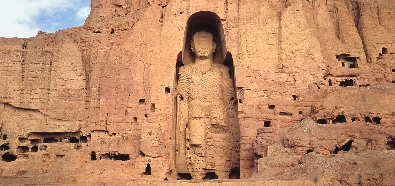 God and Evolution standing buddha bamiyan 1  spirituality science news other news lifestyle