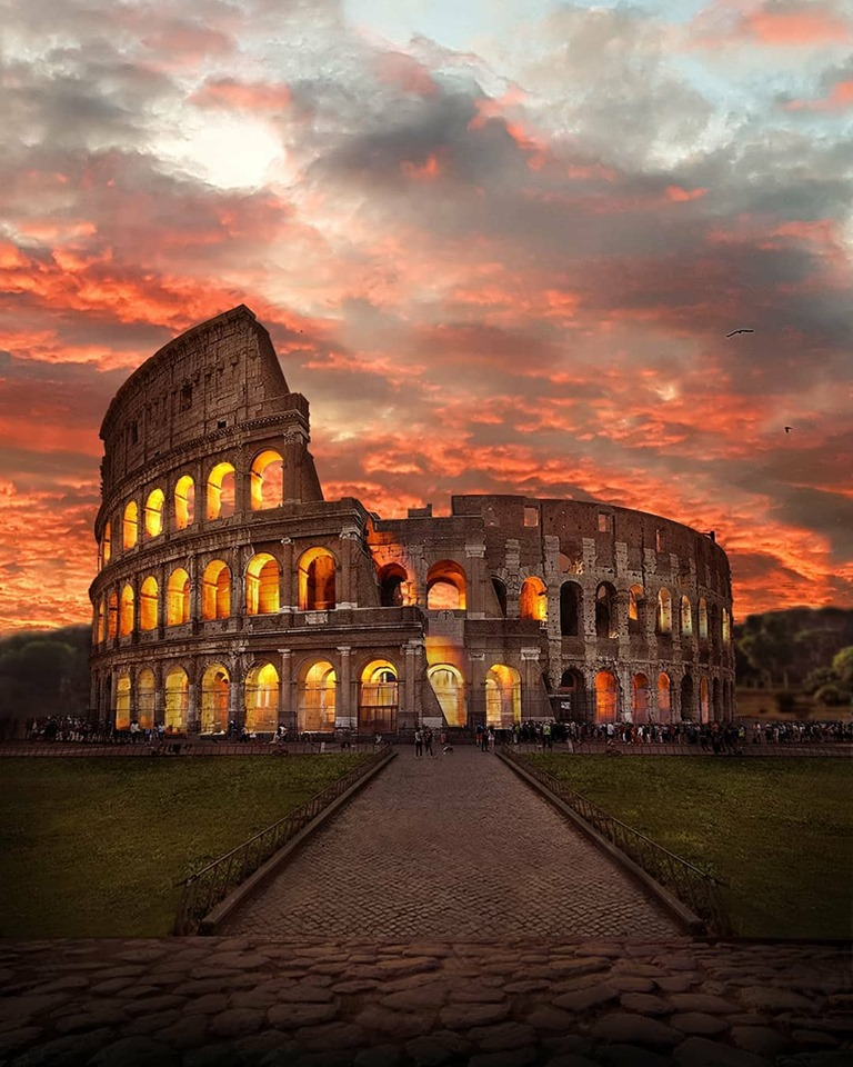 Christianity Is Incompatible With Nationalism Colliseum  society culture politics government other history europe art