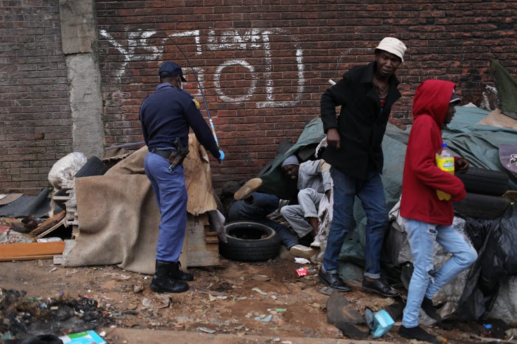 We only see the symptoms of trends that are invisible to us Hillbrow1  other