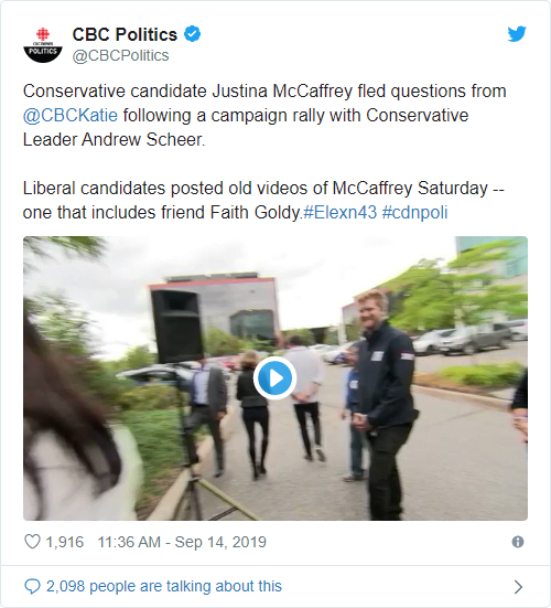 Faith Goldy & The Kosher Sandwich Justina McCaffrey republican liberal elections Donald Trump democrat conservative Canada  us canada society culture politics government politics other news europe