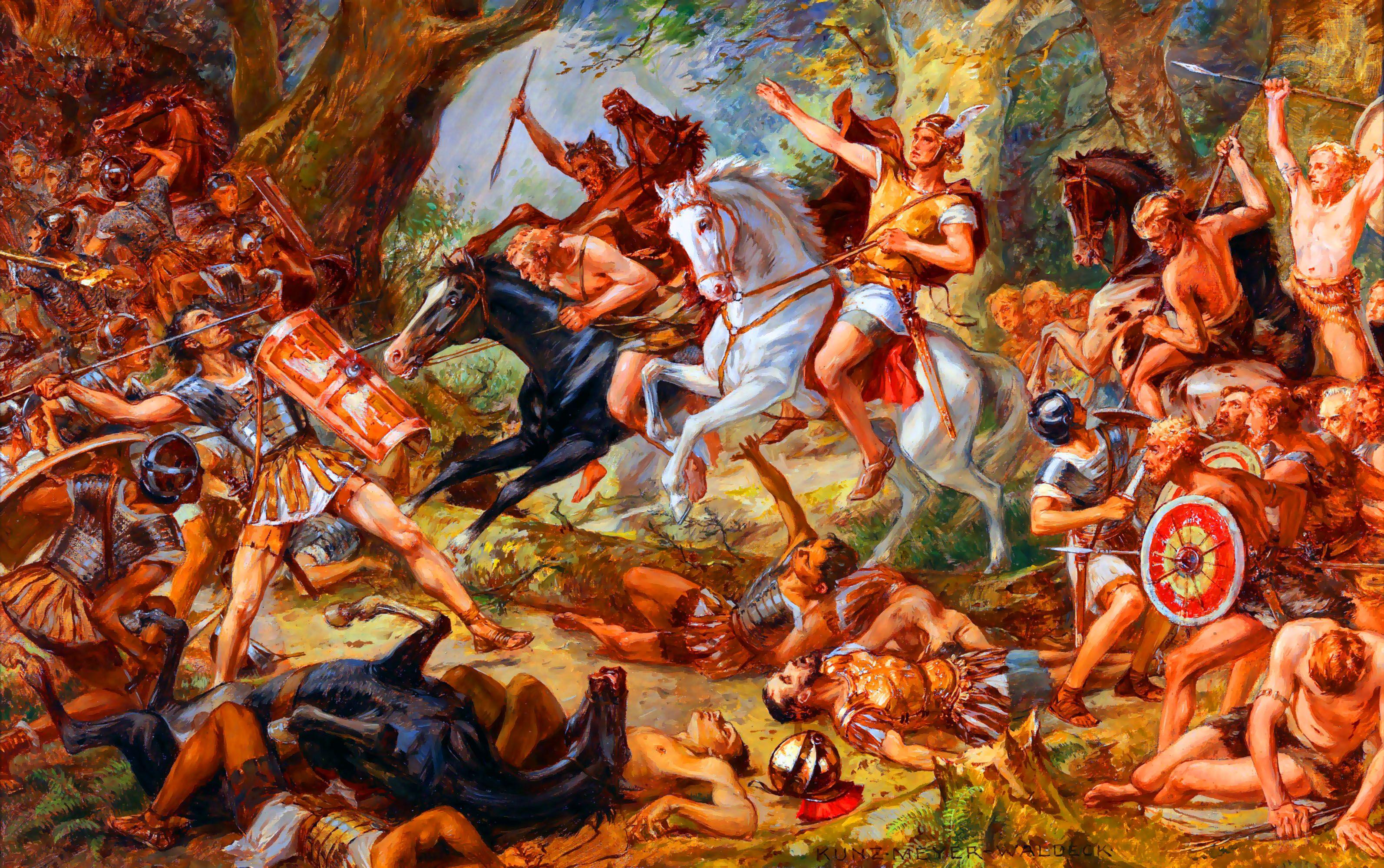 Barbarians: The Anti White Idolatry of Rome Teutoburg White Nationalism  politics government europe