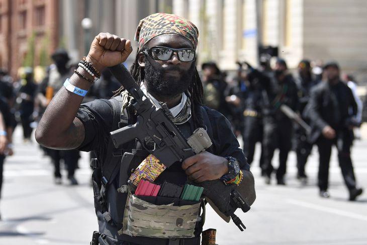 The Black Armies Are Mobilizing black militia 1 White Nationalism  us canada politics government europe