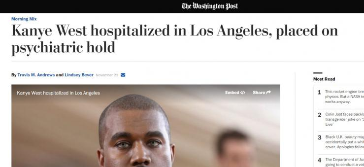 Kanye West was forced into Mental Hospital After he Spoke Out 12 d41b6e0d0bbc75492cf0e17b59610476  news music entertainment