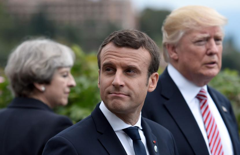 Donald Trump, Theresa May and Macron going in without Congressional or Parliamentary authorization 17 d24460dd637c388cfbbedb8522339112  politics government news