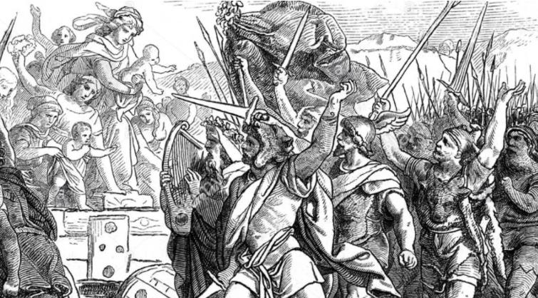 Barbarians: The Anti White Idolatry of Rome frauen White Nationalism  politics government europe