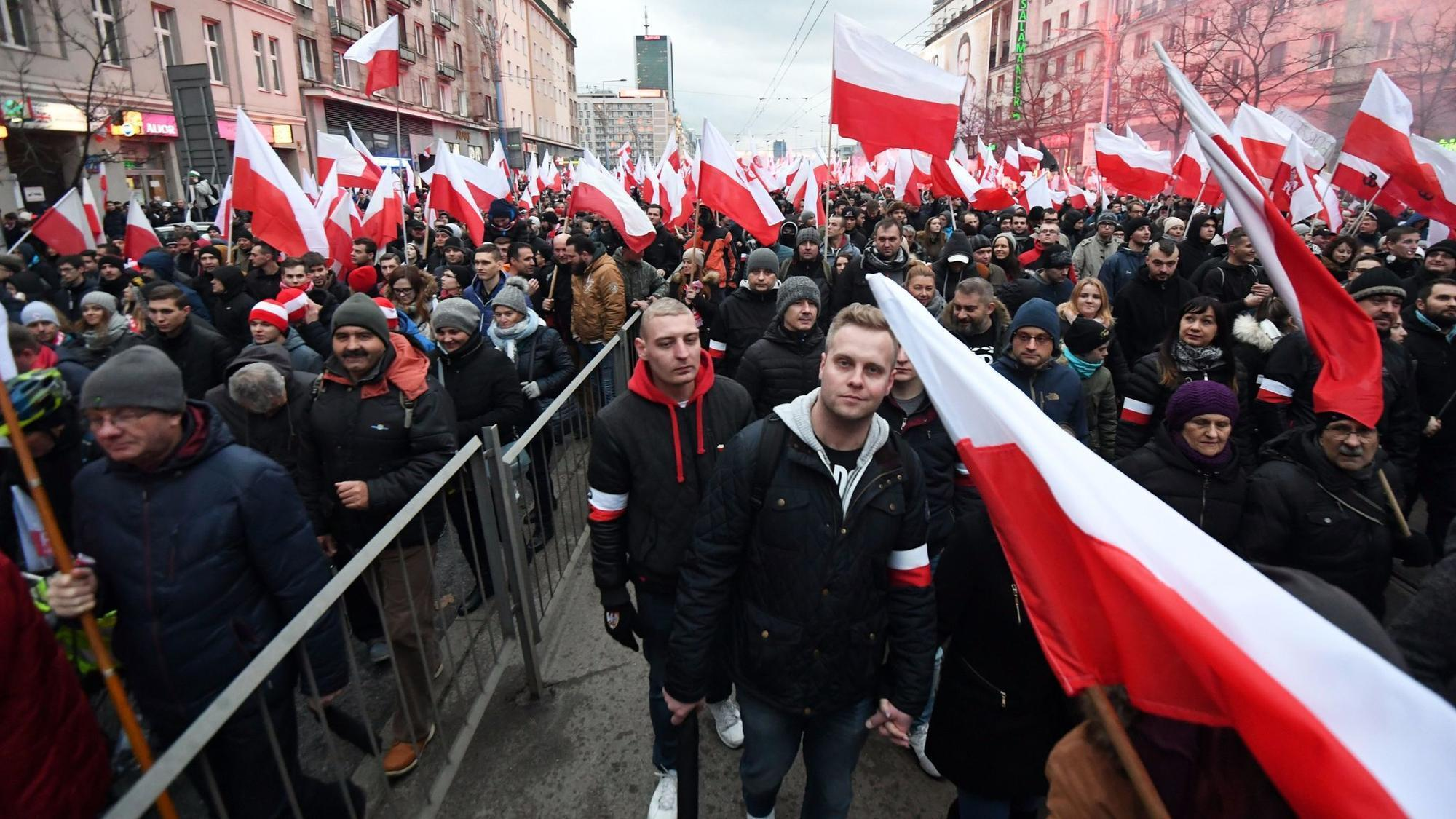 Christianity Is Incompatible With Nationalism la fg poland march 20171113  society culture politics government other history europe art