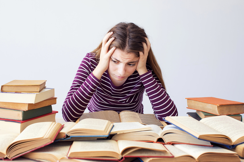 Recently Read study stress