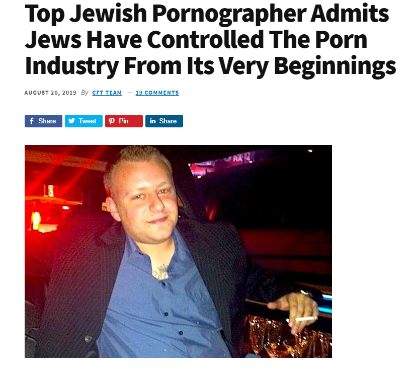 The Pornography Problem top jewish pornographer nationalism  us canada politics government politics news europe