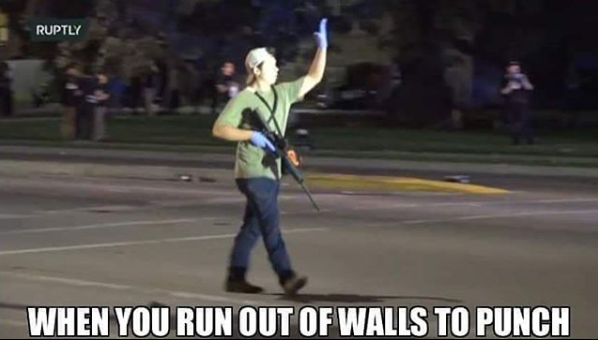 Kenosha: The Violence Has Escalated when you run out of walls to punch White Nationalism  us canada politics government politics news europe