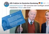 AfD Leaders Congratulated Biden 2