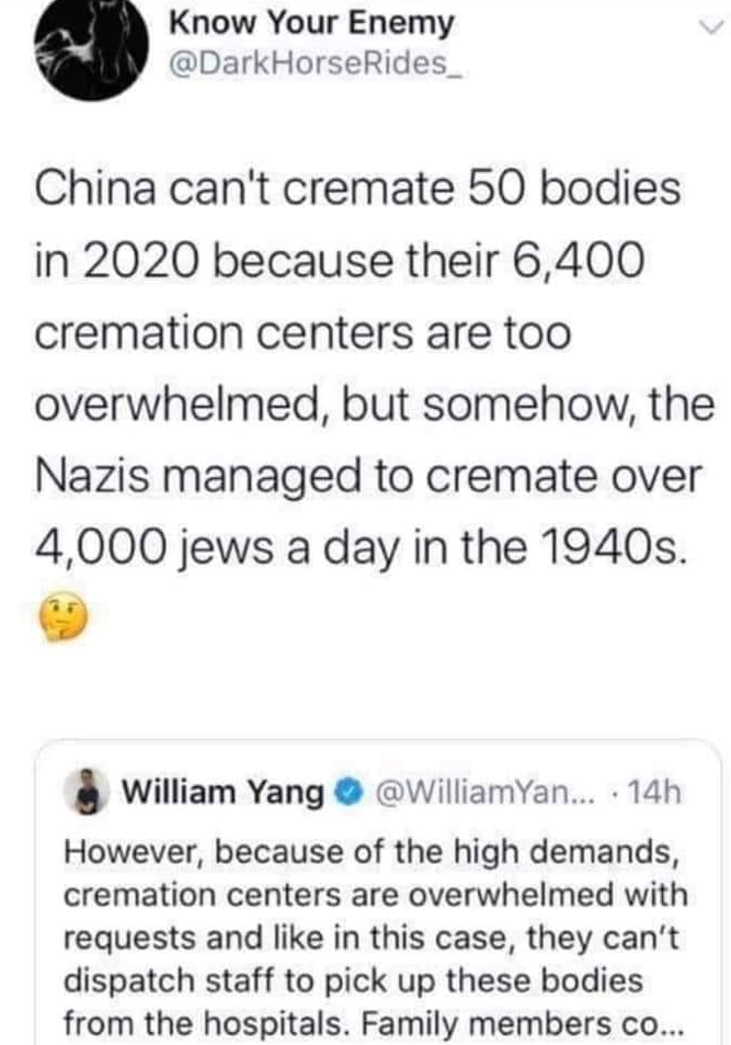 China Struggles To Cremate 50 Bodies On #Auschwitz75 China Cremation nationalism  us canada politics government politics news europe