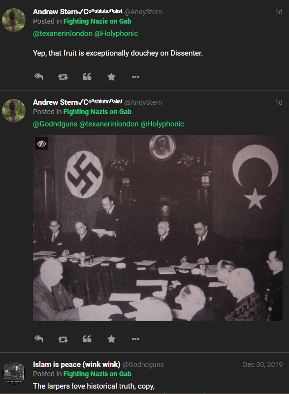 Jews Name Themselves With Handy Gab Group Gab Jews 2  other