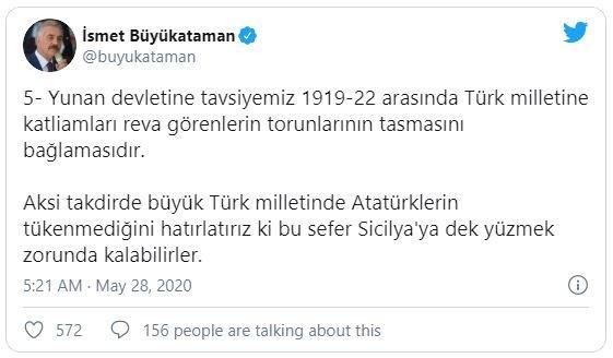 Turkish Secretary General Recommends Greek Genocide & America Burns Genocidal Turk nationalism European migrants  us canada staff picks politics government news featured europe