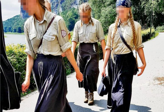 German Girls With Braids Go For Stroll: Media Attacks Them
