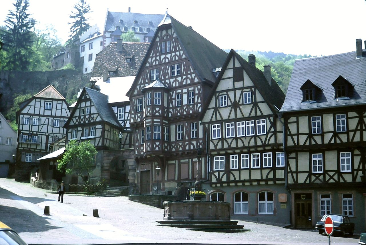 Cultural Appropriation Was A Missed Opportunity For Nationalists Half timbered houses Miltenberg im Odenwald nationalism  us canada politics government europe