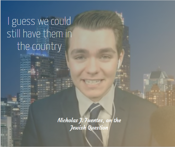 The Point Of Purity Spiraling Nick Fuentes Quote nationalism  us canada politics government europe