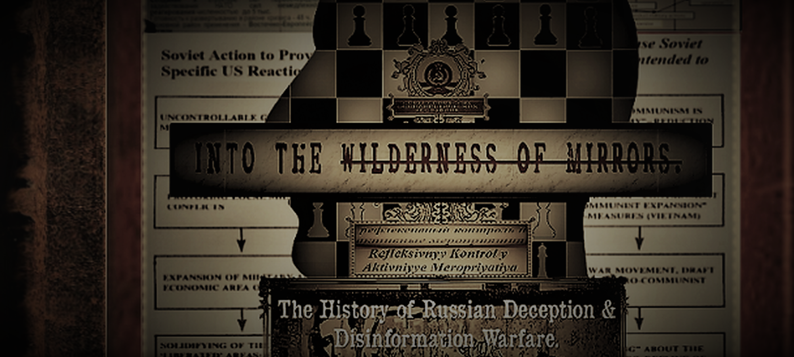 Recently Read Wilderness of Mirrors Cover Graphic