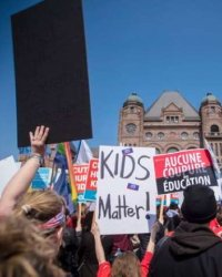 Canadian Teachers Strike Against The Consequences of Diversity. Too Stupid To Realize Diversity Is The Problem.