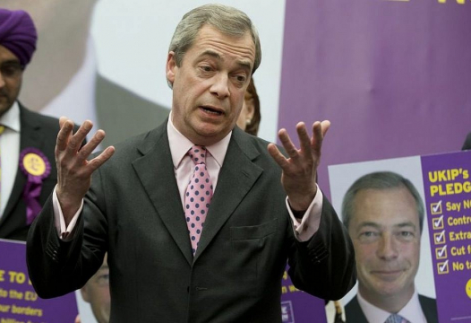 "Nigel Farage Boasts That He ""Destroyed The Far Right"" In The UK"