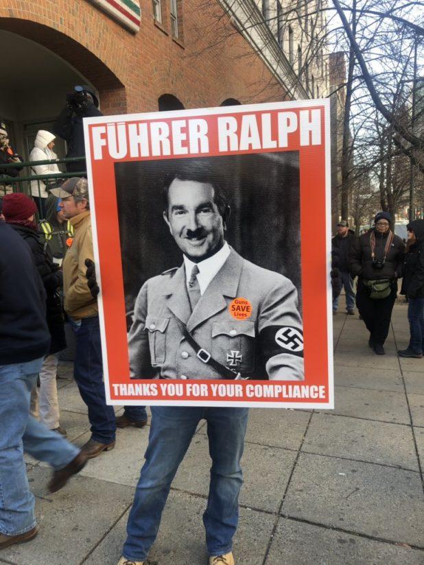 Democrats Win Big At Virginia Gun Rally rally 4 White Nationalism America  us canada politics government politics news europe