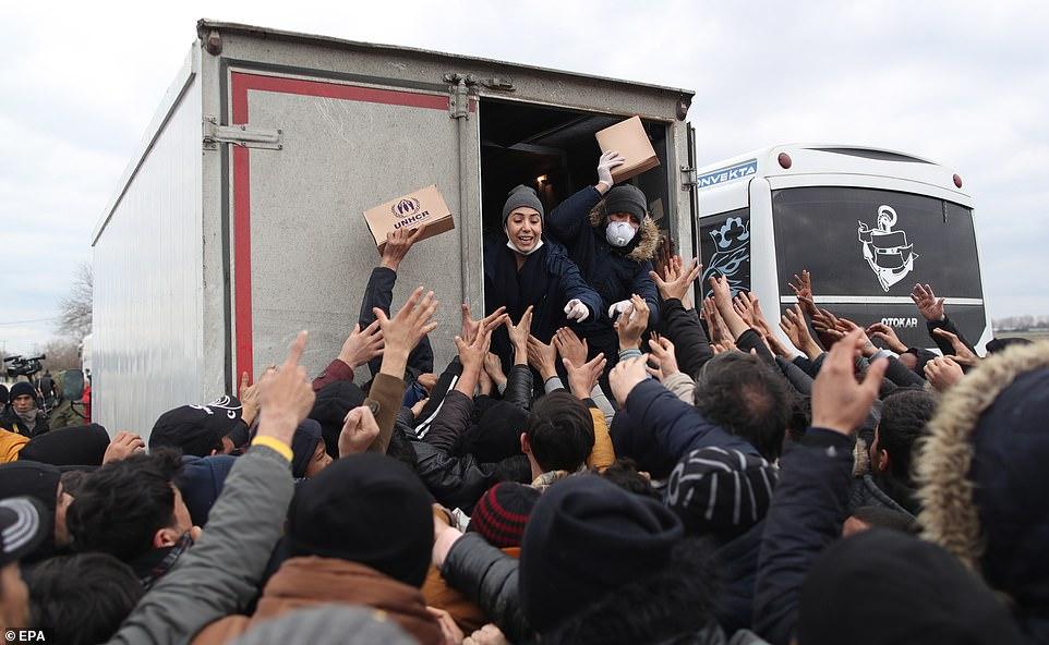 Is Hellas Where SHTF? refugees greece 11 White Nationalism  staff picks politics government politics news featured europe