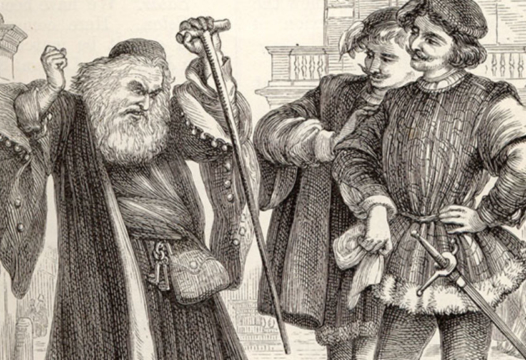Shylock the Jew and the meaning of the Jewish question.