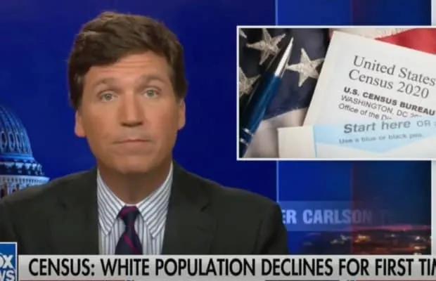 USA: 5 Million Fewer Whites + Anti COVID Declared Terrorism tucker 2 White Nationalism  us canada politics government europe