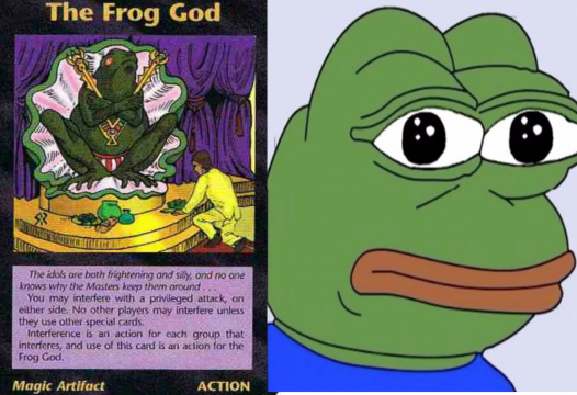 Why participate in the cult of Kek?